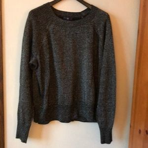 Gap Silver Sparkle and black Sweater XXL